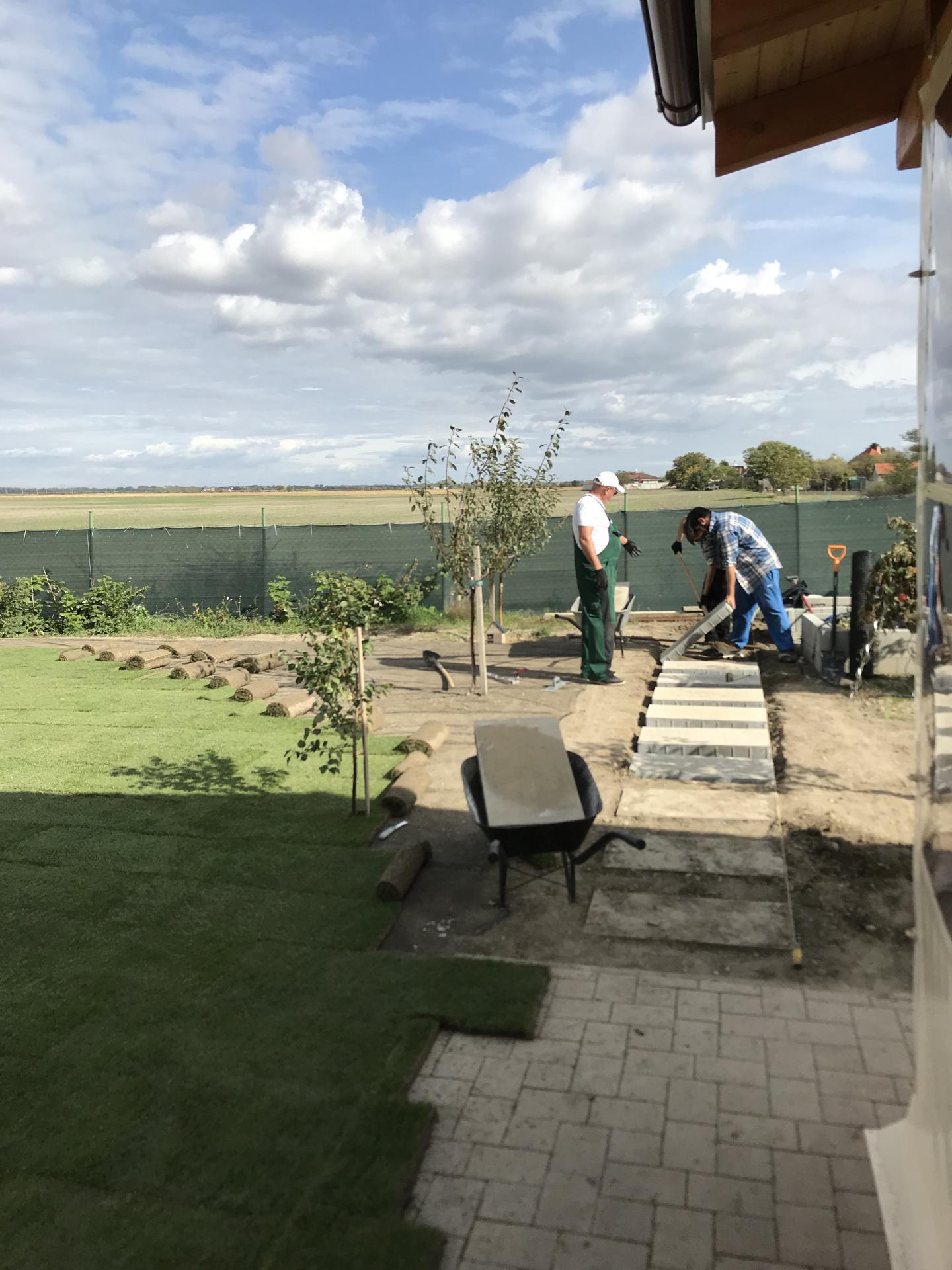 Realizácia záhrad - Čakany - Stellagarden